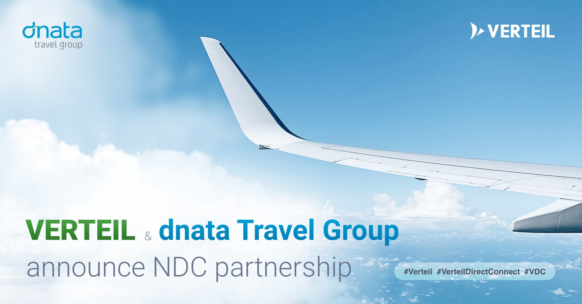 Verteil and dnata Travel Group announce NDC Partnership