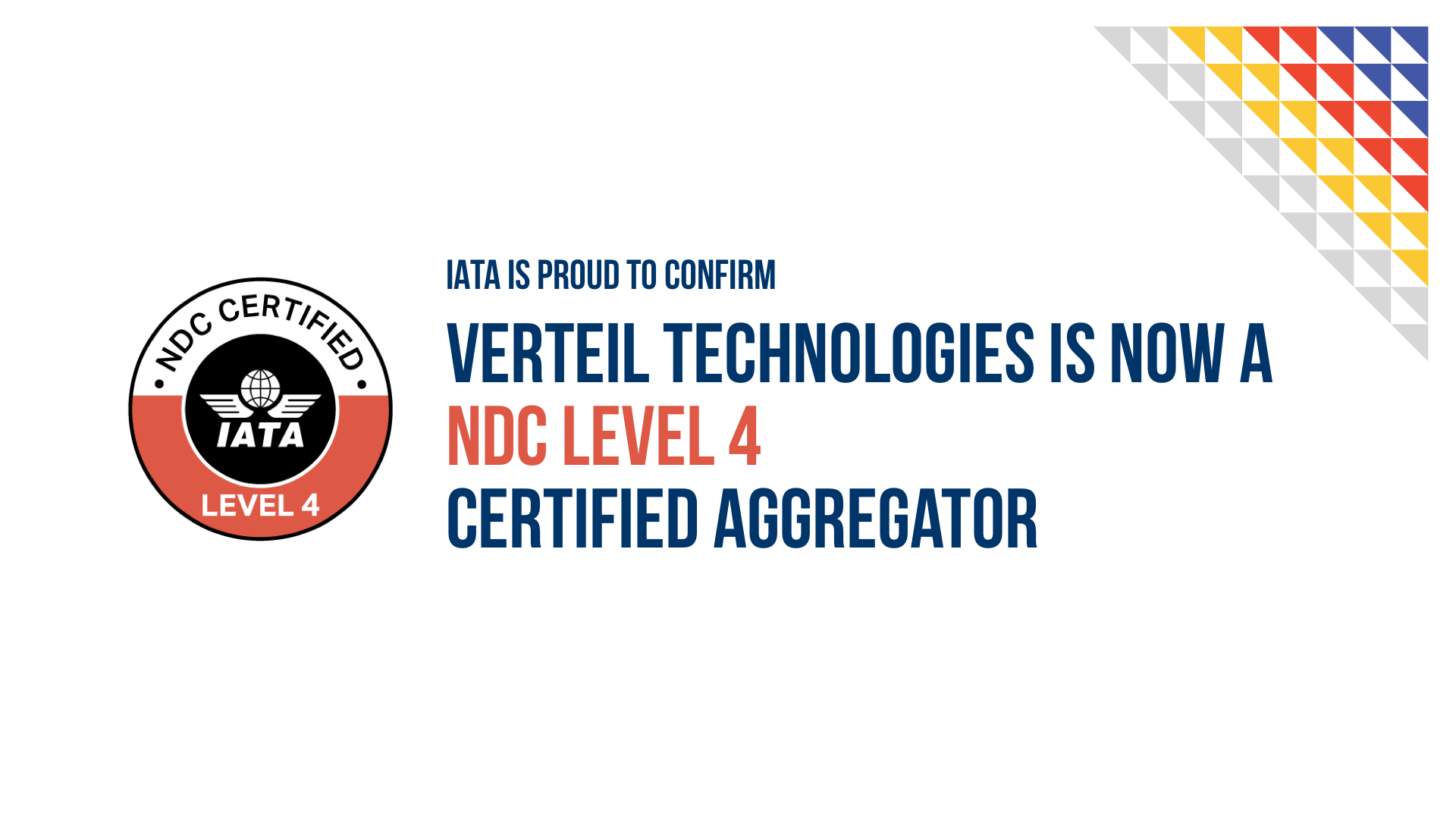 NDC Level 4 certification